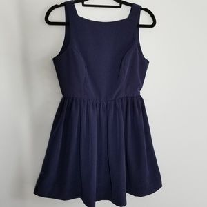 American Apparel navy blue sleeveless dress size M